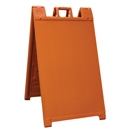 "Signicade A-Frame Sign - Orange 24"" x 36"""