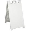 "Signicade  A-Frame Sign - White  24"" x 36"""