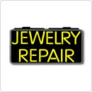 "LED Neon Sign Indoor Watch Store Jewelry Repair 13"" x 24"" Simulated Neon Sign at Sears.com"